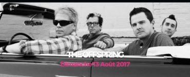 The Offspring en concert à Landerneau