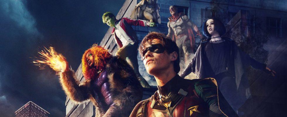 Titans saison 2 est arrivé sur Netflix